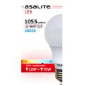 ASALITE BEC LED GLOB  A60 12W 4000K 1055 LUMEN