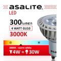 ASALITE BEC LED SPOT G10 4X1W 3000K 300 LUMEN