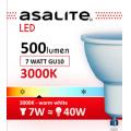 ASALITE BEC LED SPOT 7W GU10 3000K 560 LUMEN