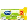 PERFEX HARTIE IGIENICA 3STR MUSETEL 10ROLE/SET