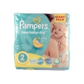 SCUTECE PAMPERS NEW BABY DRY 3-6 KG. 100 BUC (2)