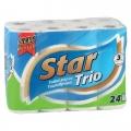 STAR TRIO HARTIE IGIENICA 3STR 24BUC/PACH